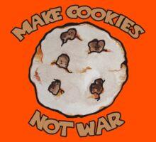 Make cookies not war Kids Clothes