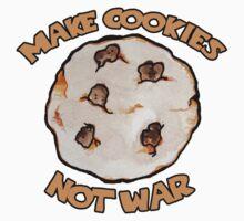 Make cookies not war Kids Tee