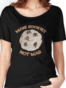Make cookies not war Women's Relaxed Fit T-Shirt