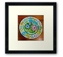 Waterlily Wonderland Framed Print