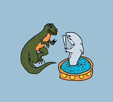 Shark Vs T-Rex Unisex T-Shirt