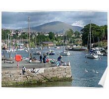 Caernarfon, Snowdonia, North Wales, UK, Poster