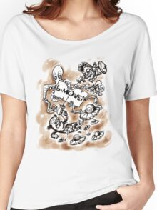 B Movie Comics Style v1 Women's Relaxed Fit T-Shirt