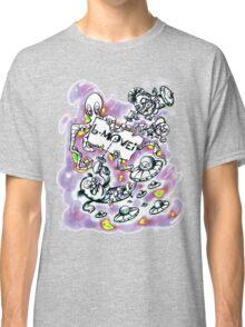 B Movie Comics Style v2 Classic T-Shirt