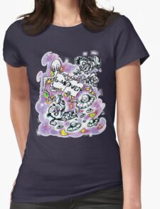 B Movie Comics Style v2 Womens Fitted T-Shirt