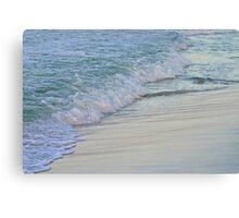 Foamy Shore Canvas Print