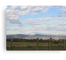 morning in Fort Collins, CO Canvas Print