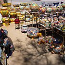 Colorful ceramics from Mexico 1 by nealbarnett