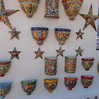 Colorful ceramics from Mexico 2 by nealbarnett