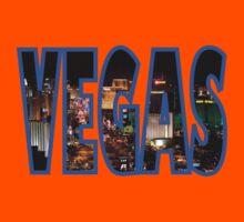 Las Vegas - Blue Kids Tee