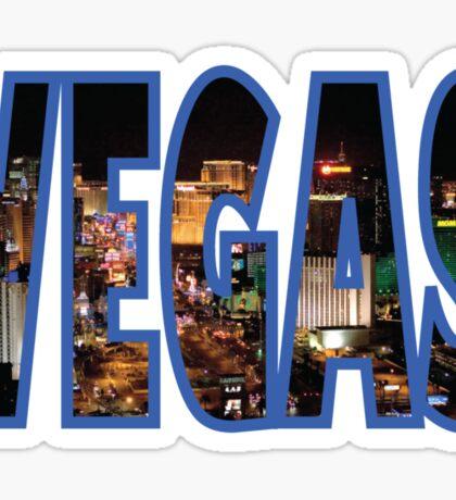 Las Vegas - Blue Sticker