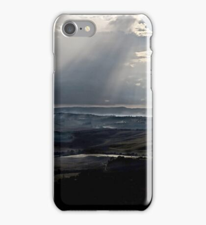 abstract hilly landscape iPhone Case/Skin