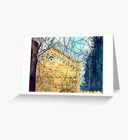 Little church Greeting Card