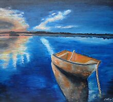Reflections in the water by olivia-art