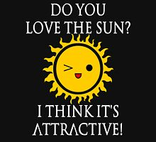 Sun Puns - Attractive Sun Unisex T-Shirt