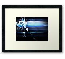 Superstring Framed Print