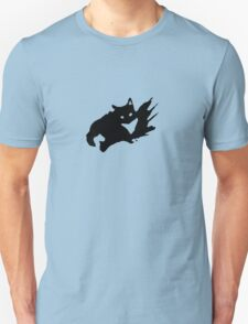 Ghost Splash Black T-Shirt