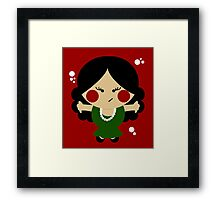 Tiny Flamenco Dancer Framed Print