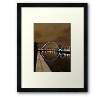Millenium Bridge Newcastle Framed Print