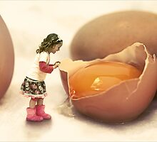 Mila and the Giant Egg by micklyn