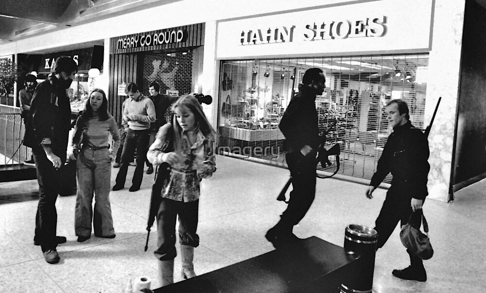 Zombie Fighters in the Mall by Imagery