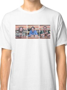 Lebowski Triptych Classic T-Shirt