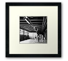 Walls and words Framed Print