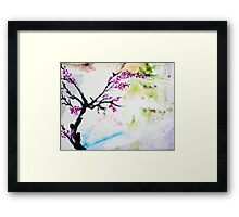 Cherry Blossoms Revisited Framed Print