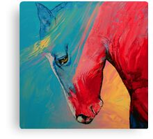 Painted Horse Canvas Print