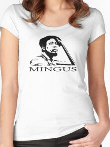 CHARLES MINGUS Women's Fitted Scoop T-Shirt