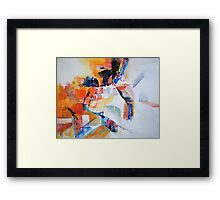 Cyclist Framed Print