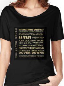 Dover Delaware Famous Landmarks Women's Relaxed Fit T-Shirt
