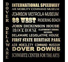 Dover Delaware Famous Landmarks Photographic Print