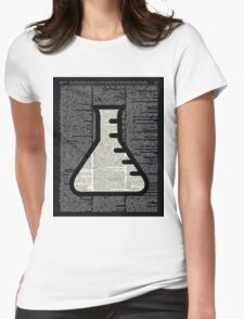 Chemistry - Alchemy Vial Womens Fitted T-Shirt