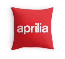 aprilia Throw Pillow