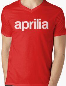 aprilia Mens V-Neck T-Shirt