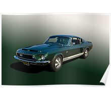 1967 Shelby Mustang GT500KR Poster