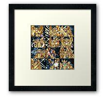 Saint Seiya Poster Framed Print