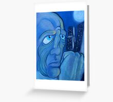 Lost in the City Greeting Card