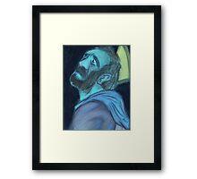 The Templar's Torment Framed Print
