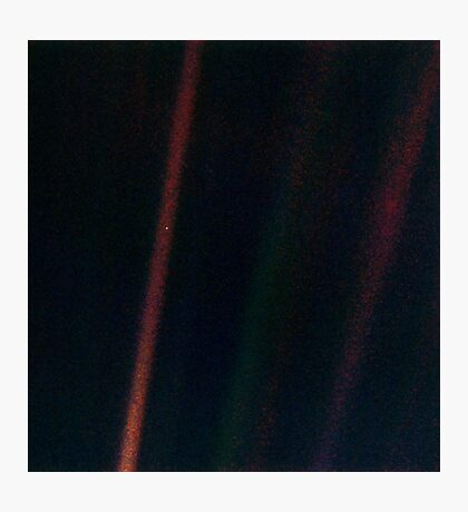 Pale Blue Dot Photographic Print