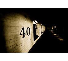 40 Photographic Print