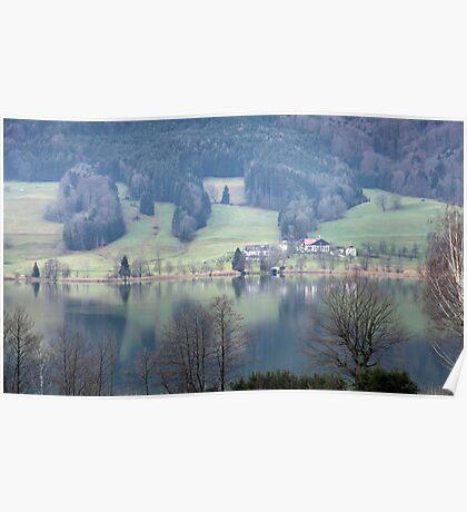lake in austria Poster