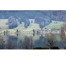 lake in austria Photographic Print