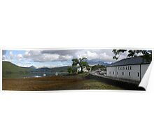 Panoramic view of Talisker, Skye Poster