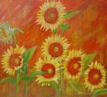 Sunflowers  by olivia-art
