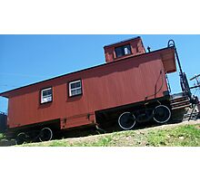 Caboose Photographic Print