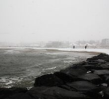 Snowstorm at Cape May by Jeff Stanford