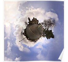 Little planet for one of the churches Poster