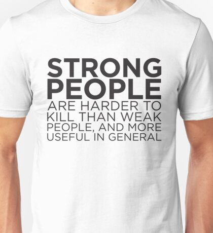 Strong People Unisex T-Shirt